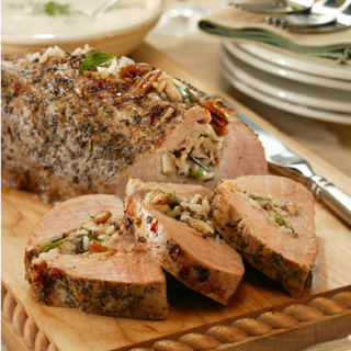 Italian Stuffed Pork Tenderloin Recipe