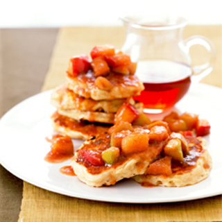 Apple Pancakes with Maple Apple Sauce Recipe
