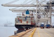 Port of Savannah in Georgia