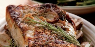 Rosemary Crusted Pork Loin Recipe