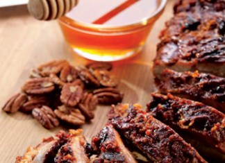 Honey Pecan Baby Back Ribs Recipe