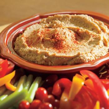 Hot Wings Hummus recipe
