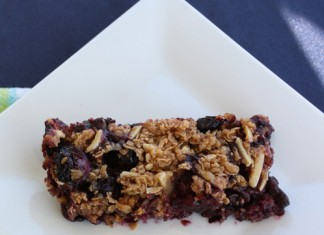 Georgia Blueberry Granola Bars Recipe