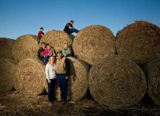 Nebraska Farm Family