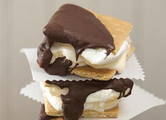 S'mores Ice Cream Sandwiches Recipe