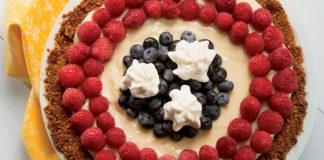 Lemon Berry Cream Pie