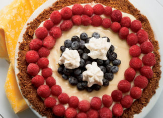 Lemon Berry Cream Pie