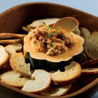 Chunky Roasted Fall Vegetable Dip Recipe