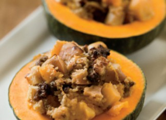 Squash and Apple Bake with Sausage Recipe