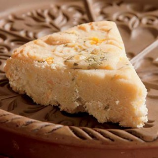 Orange and Rosemary Shortbread