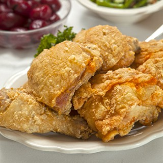 Hollyhock Hill fried chicken