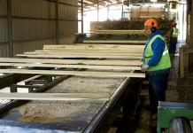 Augusta Lumber hardwood sawmill