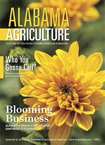 Alabama Agriculture 2014 cover