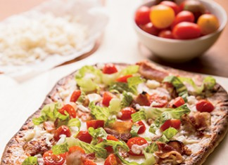 Grilled BLT Pizza