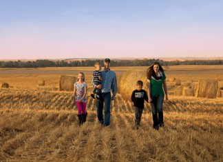 Kyle and Gina Cantrell, Nebraska family farm