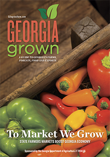 Georgia Grown 2014-15 cover