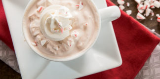 Peppermint Hot Chocolate