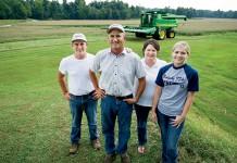 100% Kentucky Proud Popcorn growers, the Hornbacks