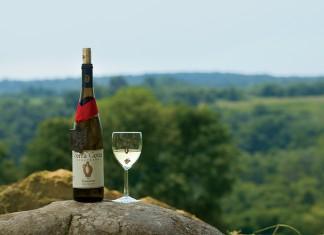 Traminette White Table Wine at Terra Cotta Vineyards in New Concord, Ohio