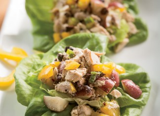Chicken Salad with Red Potatoes