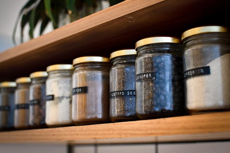 stocking kitchen checklist