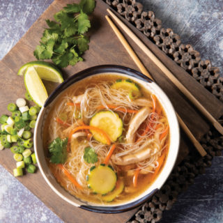 Duck Pho; January recipes
