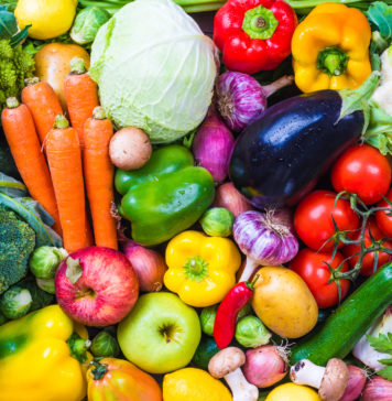 Vegetables and fruits - fresh produce calendars