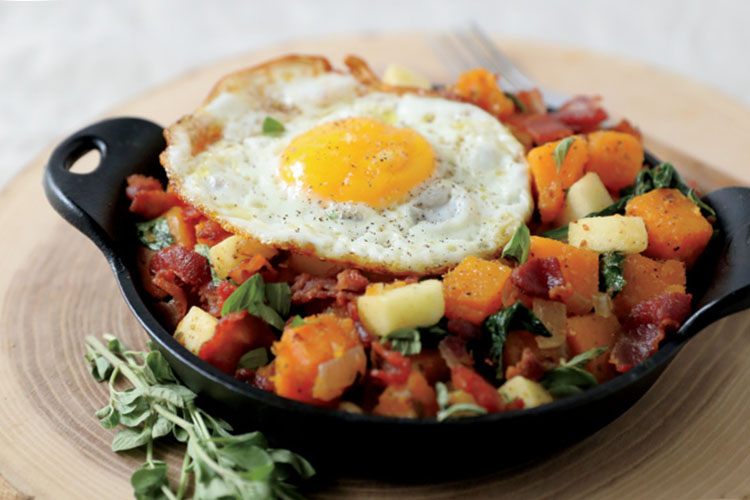 butternut breakfast hash