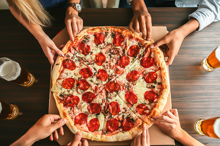 U.S. pizza styles