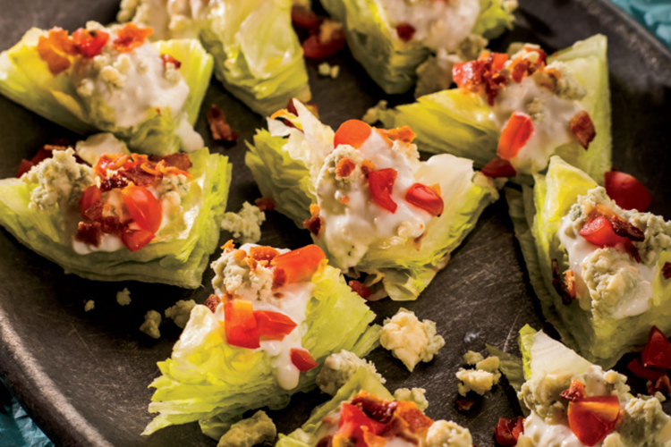 wedge salad bites