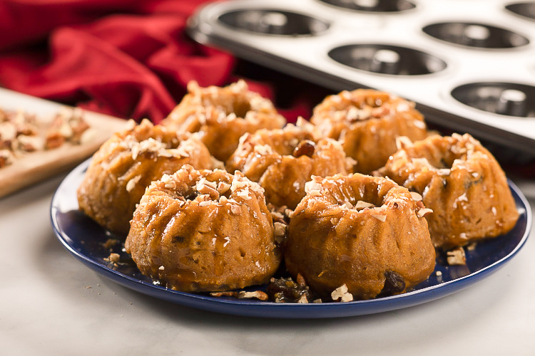 sweet potato bundt cakes