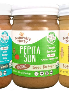 naturally nutty; craft nut butters