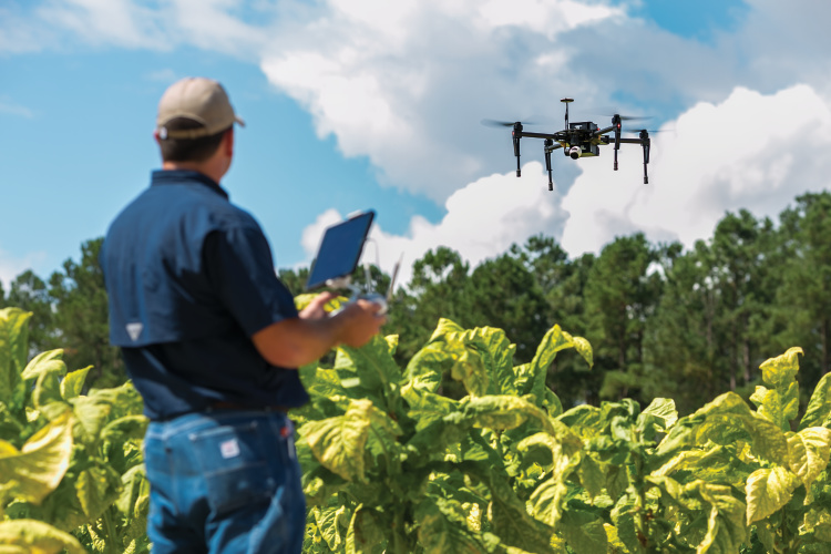 young farmers embrace new technology to optimize their operations