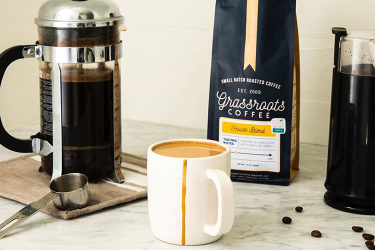 Georgia gift guide; Grassroods Coffee