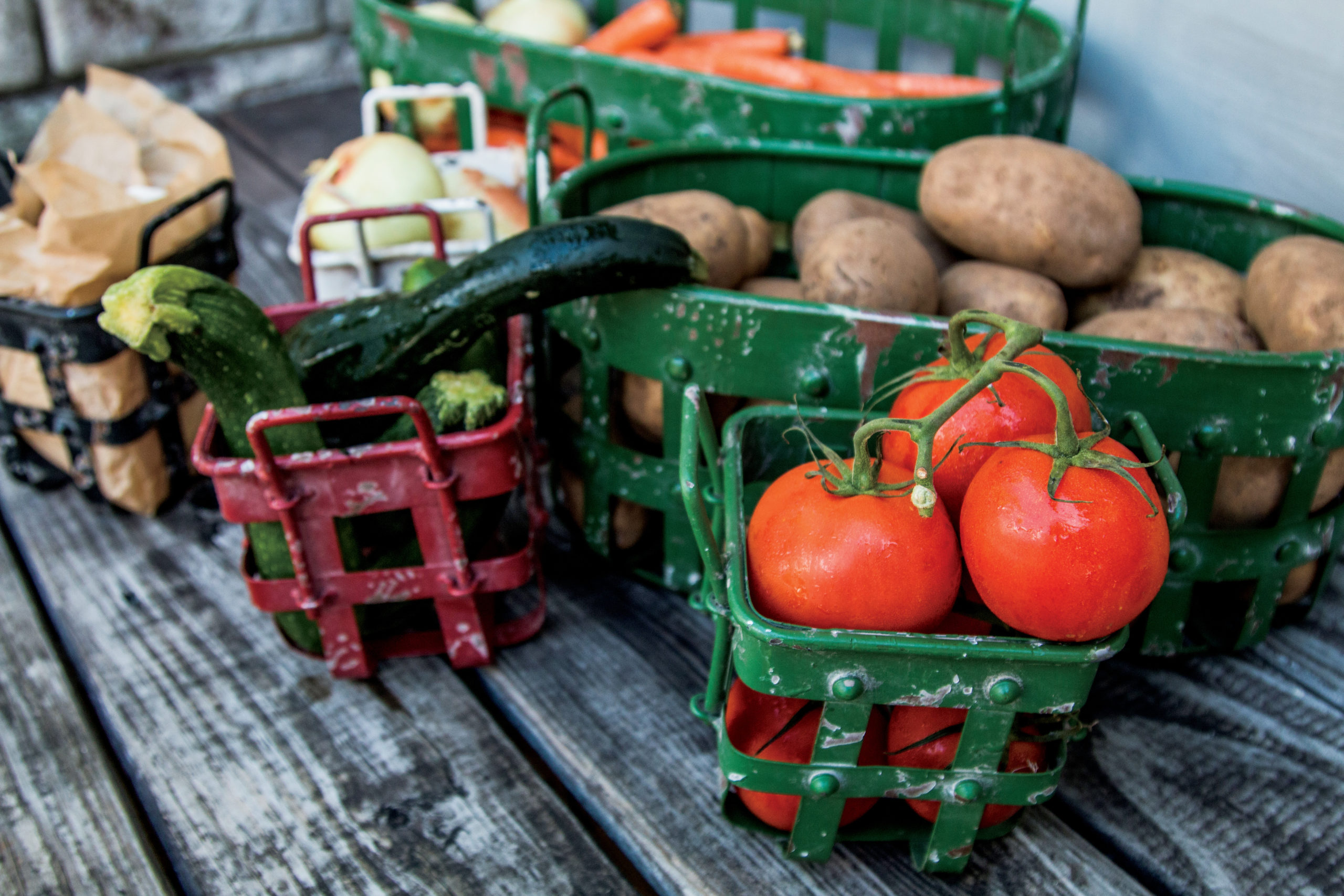 CSAs, or Community Supported Agriculture, supports the local economy and keeps residents stocked with freshly grown food