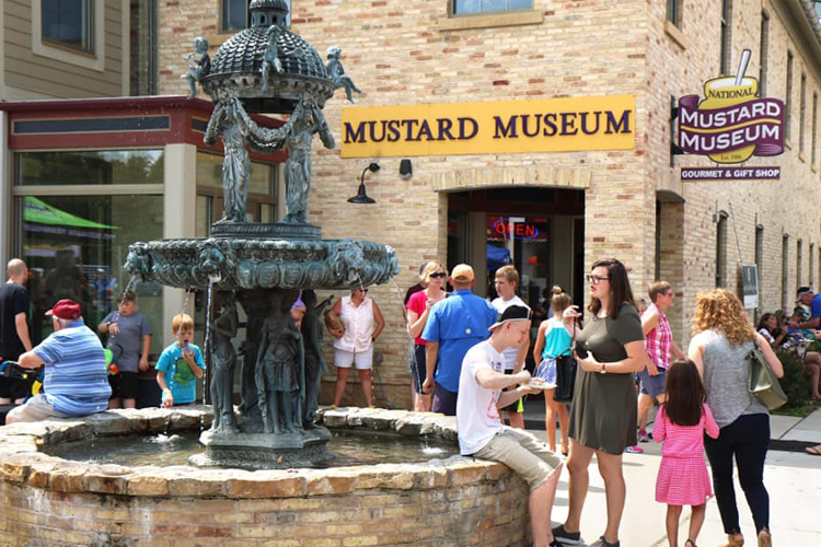 The National Mustard Museum; bizarre food museums