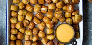 Homemade Pretzel Bites; Super Bowl Recipes