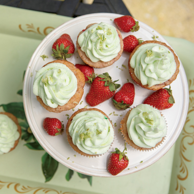 Strawberry Lime Margarita Cupcakes Farm Flavor Recipe