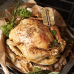 Lemon Herb Brown Bag Chicken.
