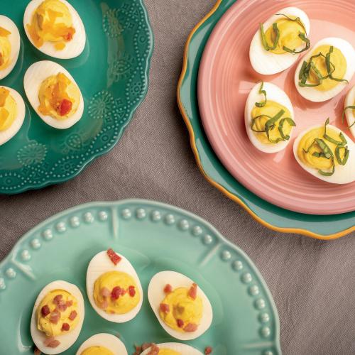 Mrs Scarlett S Deviled Eggs Farm Flavor Recipe