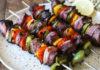 Greek Steak Kebabs