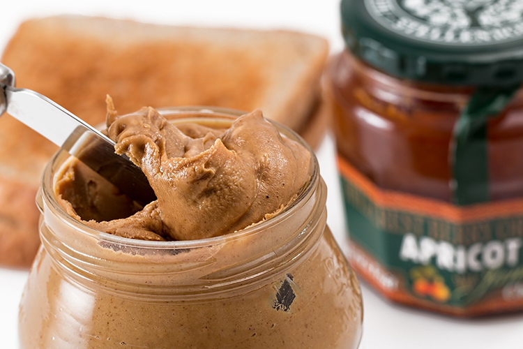 pantry essentials; peanut butter