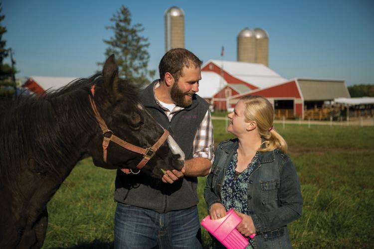 Dairy at Wegmueller Farm